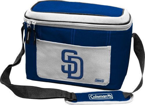 MLB Padres 12 Can Soft Sided Cooler