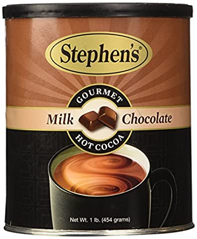 Stephen's Gourmet Hot Cocoa, Milk Chocolate, 16-ounce Canister - Hot Chocolate With Cocoa Powder