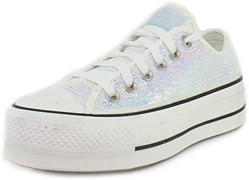 converse all star basse argento