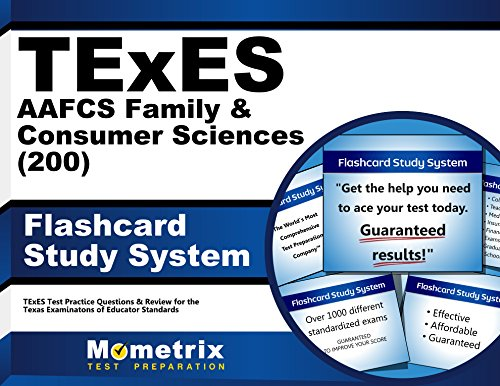 TExES AAFCS Family & Consumer Sciences (200) Flashcard Study System: TExES Test Practice Questions & Review for the Texas Examinations of Educator Standards (Cards)