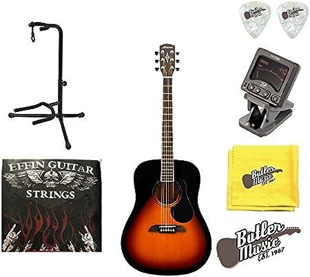 Alvarez Regent rd26sb Dreadnought Guitarra Acústica W/bolsa, púas, cuerdas y más: Amazon.es: Instrumentos musicales