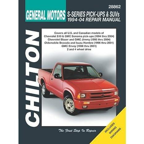 amazon com: chilton chevy s10 1994-2001 repair manual (28862): chilton  editors: automotive