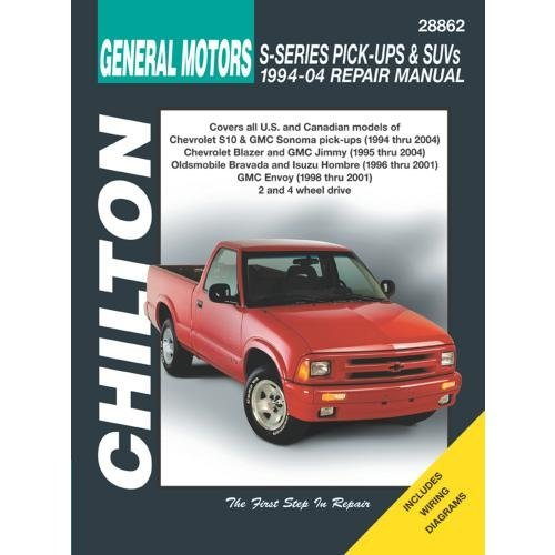 amazon com chilton chevy s10 1994 2001 repair manual (28862amazon com  chilton chevy s10 1994