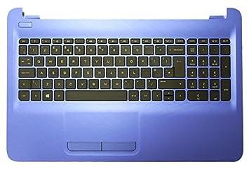 HP 813978-071 Carcasa Inferior con Teclado refacción para Notebook - Componente para Ordenador portátil (Carcasa Inferior con Teclado, Español, ...
