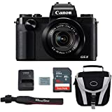 Canon G5X Digital Camera Bundle + Canon PowerShot G5X Advanced Accessory Kit - Including EVERYTHING You Need To Get Started