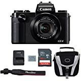 Canon G5X Digital Camera Bundle + Canon PowerShot G5X Advanced Accessory Kit – Including EVERYTHING You Need To Get Started