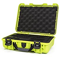 Nanuk DJI Osmo Waterproof Hard Case with Custom Foam Insert for DJI Gimbal Stabilizer Systems Including Osmo, Osmo+ and Osmo Mobile  - 910-OSM12 Lime