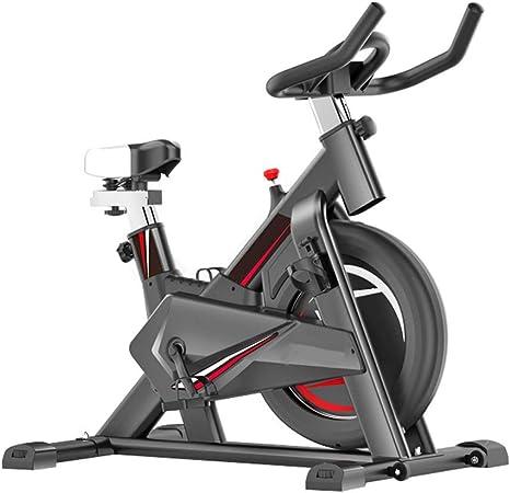 HLEZ Bicicleta Estática Bike, Resistencia Variable Ordenador de ...