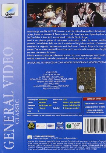 Moulin Rouge (1952) [Italia] [DVD]: Amazon.es: Jose Ferrer ...