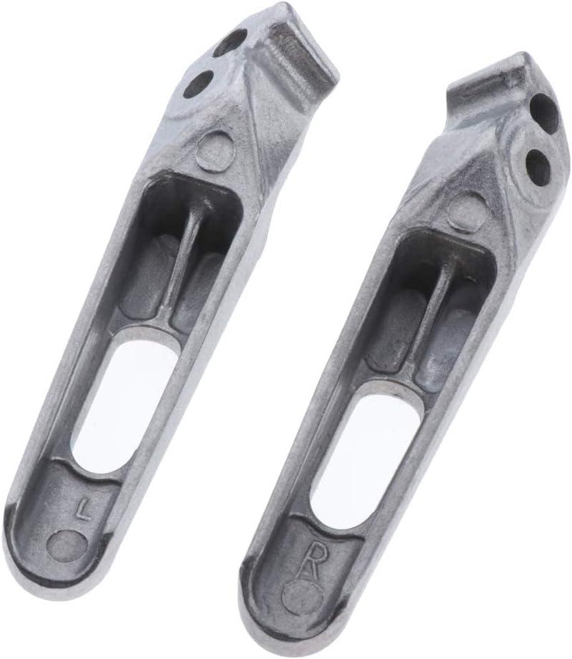 KESOTO CBR 1000RR 2004-2014 600RR Clavijas de Pie Delanteras de Motocicleta de Material de Aluminio Duradero