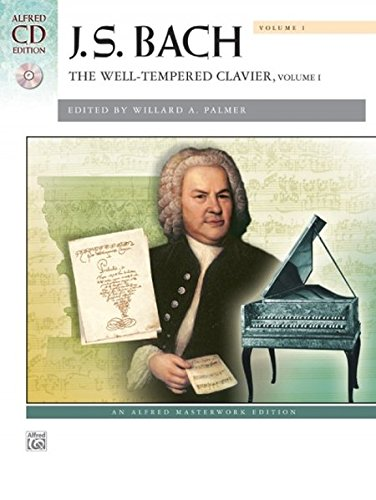 Bach -- The Well-Tempered Clavier, Vol 1: Comb Bound Book (Alfred Masterwork CD Edition)