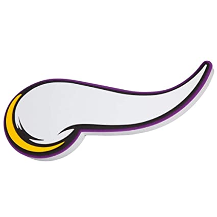 b8c49cfa Amazon.com: NFL Minnesota Vikings 3D Foam Wall Sign: Home & Kitchen