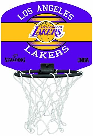 Spalding NBA Miniboard LA Lakers 77-656Z Minicanasta, Unisex ...