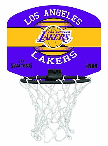 Spalding NBA Miniboard LA Lakers 77-656Z Minicanasta, Unisex,, Talla Única 3001588020617