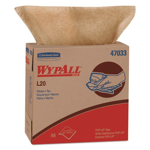 KCC47033 - WypAll L20 Kimtowels Wipes 9quot; x 16 4/5quot; by Kimberly-Clark