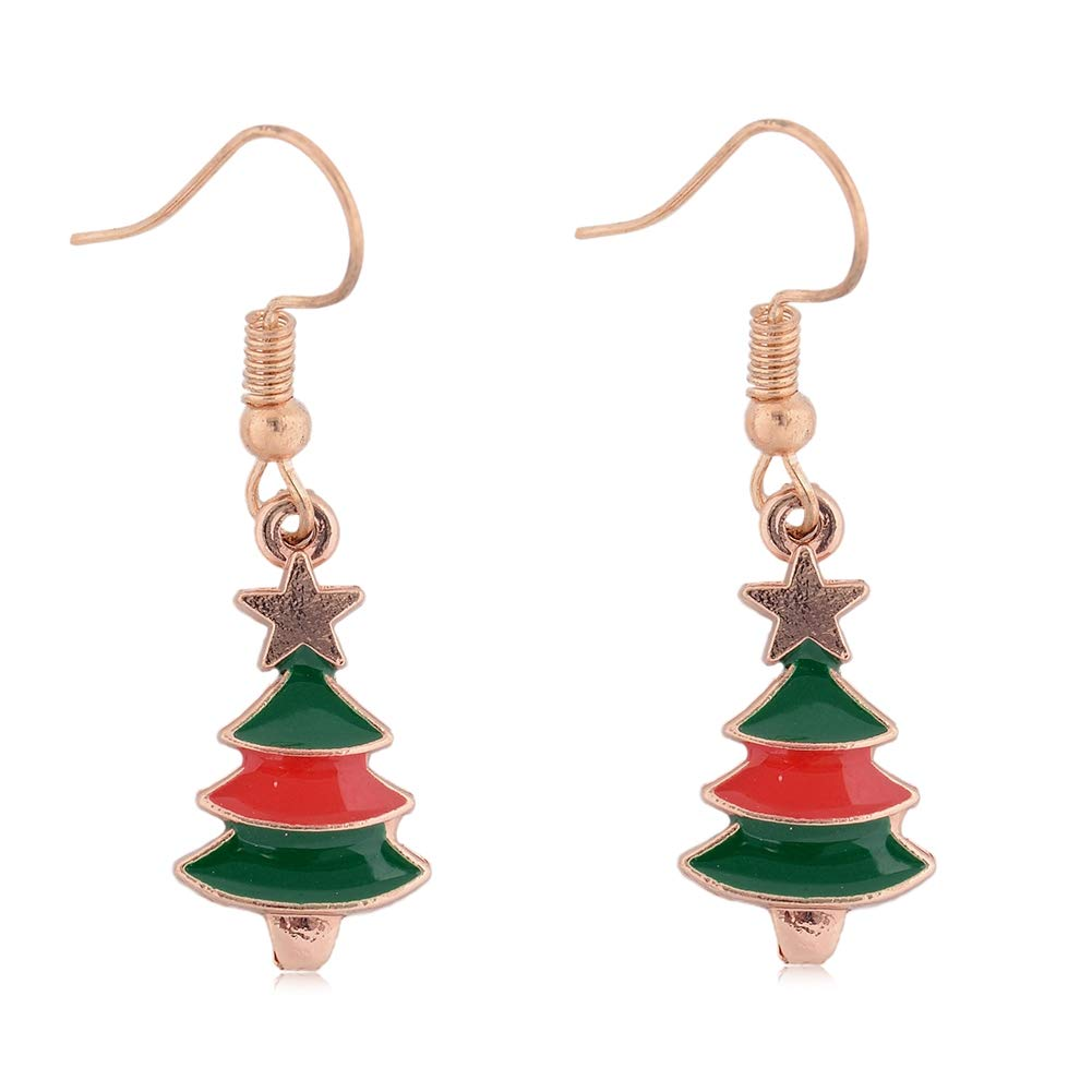 Babasee Womens Girls Cute Christmas Drop Dangle Earrings Jewelry for Thanksgiving