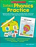 Instant Phonics Practice, Linda Beech, 0545130395