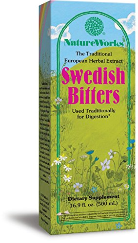 Digestive Bitters - Nature Works Swedish Bitters, 16.9 Fluid Ounce