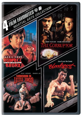 4 Film Favorites: Martial Arts (Bloodsport, The Corruptor, Rumble In The Bronx, Showdown in Little Tokyo)