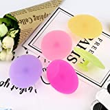 Facial Steamer Manual - 5-Pack Silicone Face Cleanser and Massager Brush Manual Facial Cleansing Brush Handheld Mat Scrubber For Sensitive, Delicate, Dry Skin