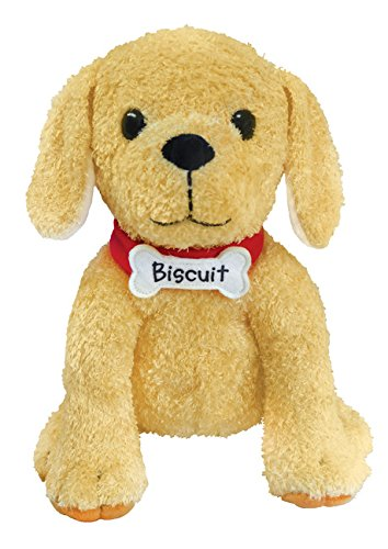MerryMakers Biscuit Plush Dog 10 Inch