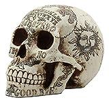 Ebros Paranormal Ouija Spirit Medium Skull Figurine Supernatural Occultist Sculpture As Home Decorative Witchcraft Medium Halloween Party Centerpiece