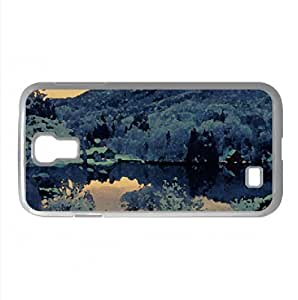 Mountain Resort Winter Watercolor style Cover Samsung Galaxy S4 I9500 Case (Winter Watercolor style Cover Samsung Galaxy S4 I9500 Case)