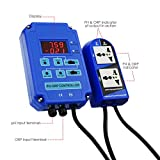 2-in-1 pH ORP Redox Controller Water Quality Tester
