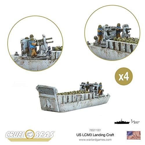 Cruel Seas Warlord Games, US LCM3 Landing Craft