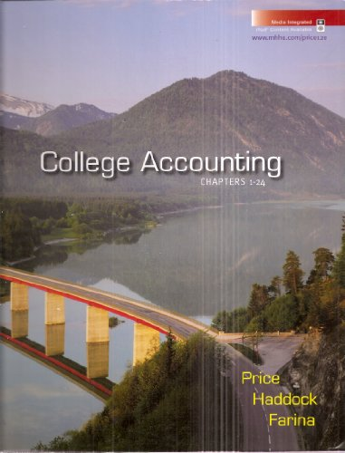 Accounting Volume 1 Custom Edition For Las Pasitas College