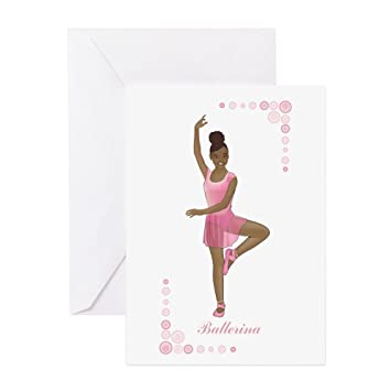 Amazon Cafepress African American Ballerina Greeting Card