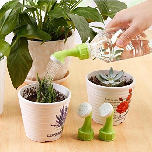 LiPing 2PCS Spray Bottle Top Watering Garden Plant Sprinkler Water Seed Seedlings Irrigation Self Plant Watering for Spike Base (A) by LiPing (Image #2)