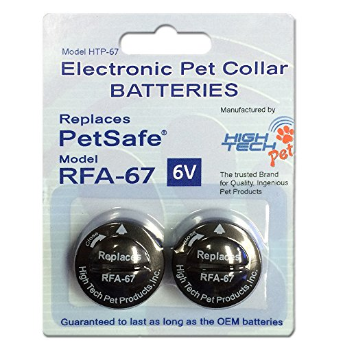 51r5qtZ8k L - High Tech Pet 6-volt Electronic Pet Collar Battery