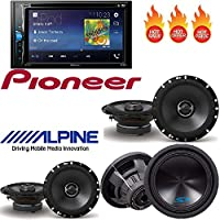 Pioneer AVH-200EX 2-Din 6.2 DVD/CD/iPhone/Android/Bluetooth Receiver Pac TR1 Video Bypass Universal Trigger Output Metra Axxess ASWC-1 Universal Steering Wheel Control Interface