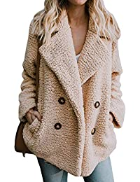 Women's Fashion Faux Fur Coats Warm Winter Coats