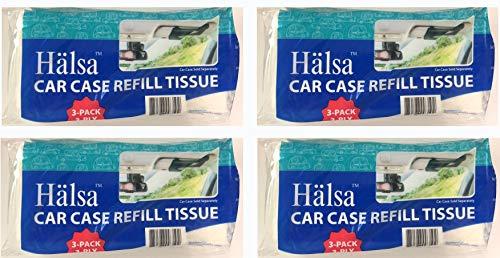 Halsa Auto Visor Tissue