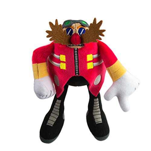 SONIC Modern Dr. Eggman Collectible Plush Toy, Red from SONIC
