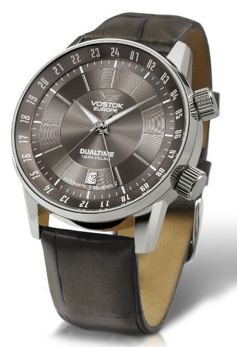 Vostok Europe - Gaz-14 Limousine - Dual Time - Grey - 2426/5601058