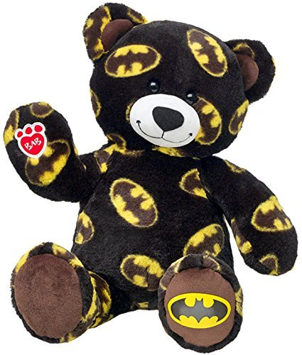 - Build a Bear Batman Superhero Teddy 16 in. DC Comic Edition Stuffed Plush Toy Animal