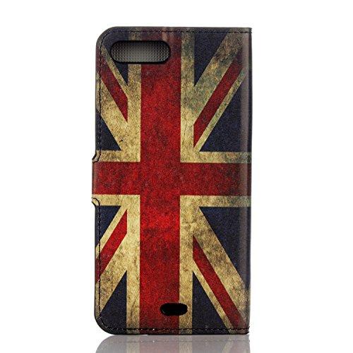 Voguecase® Pour Apple iPhone 7 4,7 Coque, Étui en cuir synthétique chic avec fonction support pratique pour iPhone 7 4,7 (UK)de Gratuit stylet l'écran aléatoire universelle