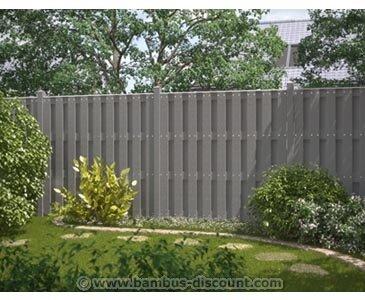 Amazon De Bambus Discount Com Wpc Gartenzaun 100 Blickdicht