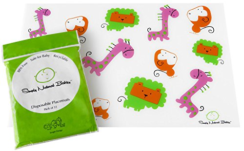 EXTRA STICKY Baby Disposable Placemats product image