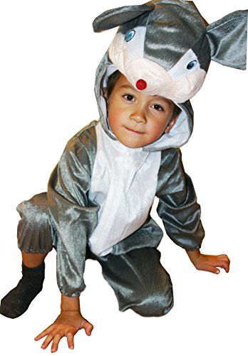 [Fun Play Fancy Dress Mouse Onesies Animal Costume 5-7 Years Size L] (2 Year Old Costumes Uk)