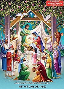 Alleluia Chocolate Advent Calendar (Countdown to Christmas) Vermont Christmas Company