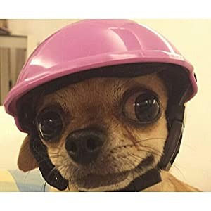 Adarl Cute Helmets Helm Hats Toys For Puppy Pet Dog Cat