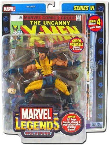 B000IXUSX8 Marvel Legends Series 6 Wolverine (Variant) Action Figure 51r5selJwYL.