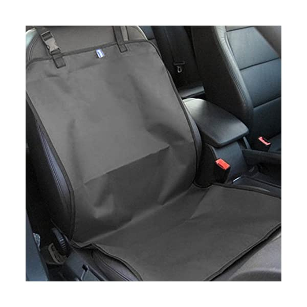 MMdex Water Proof Pet Car Front Seat Cover Dog Cat Puppy Seat Protector Mat Blanket Black