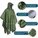 Multifunctional Mens Womens Rain Poncho