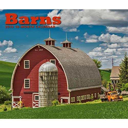 2019 Barns Deluxe Wall Calendar, by Calendar Ink