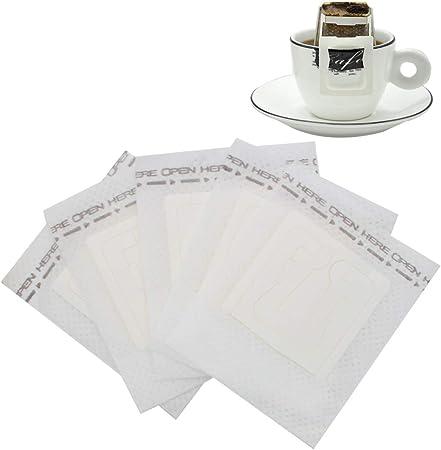 Sipliv filtro de café de papel filtros de una sola taza desechables filtro de café oreja